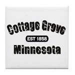 Cottage Grove Established 1858 Tile Coaster