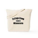 Cottage Grove Established 1858 Tote Bag