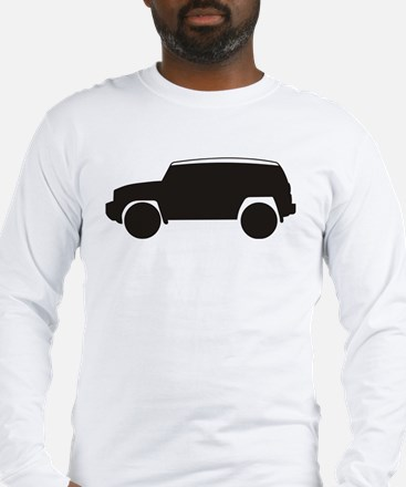 FJ Cruiser Outline Long Sleeve T-Shirt