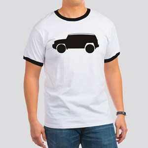 FJ Cruiser Outline Ringer T