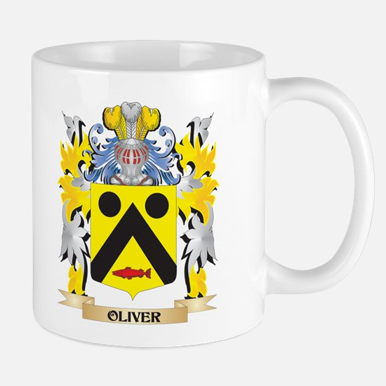 Oliver- Family Crest - Coat of Arms Mugs