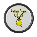 Cottage Grove Chick Large Wall Clock