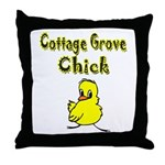 Cottage Grove Chick Throw Pillow