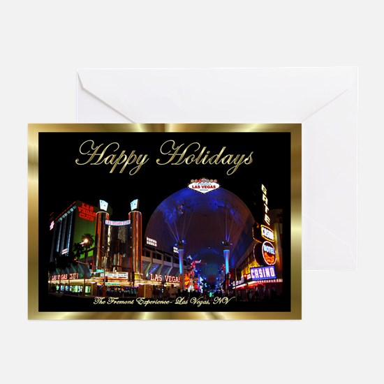 Las Vegas Christmas Cards (Pk of 10) Fremont St.