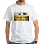 Cottage Grove Beer Drinking Team White T-Shirt