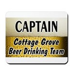 Cottage Grove Beer Drinking Team Mousepad