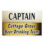 Cottage Grove Beer Drinking Team Postcards (Packag