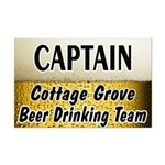 Cottage Grove Beer Drinking Team Mini Poster Print