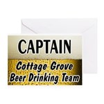 Cottage Grove Beer Drinking Team Greeting Card