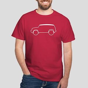 FJ Cruiser Outline Dark T-Shirt