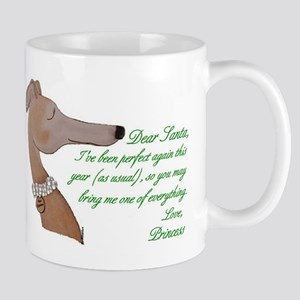 Greyhound Princess Mug