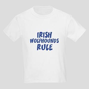 IRISH WOLFHOUNDS RULE Kids T-Shirt