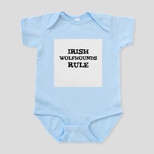 IRISH WOLFHOUNDS RULE Infant Creeper