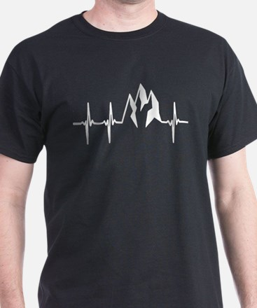 Mountain Heartbeat T Shirt T-Shirt