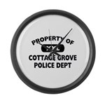 Property of Cottage Grove Police Dept Large Wall C