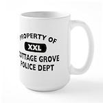 Property of Cottage Grove Police Dept Large Mug