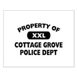 Property of Cottage Grove Police Dept Small Poster