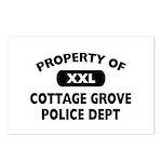 Property of Cottage Grove Police Dept Postcards (P