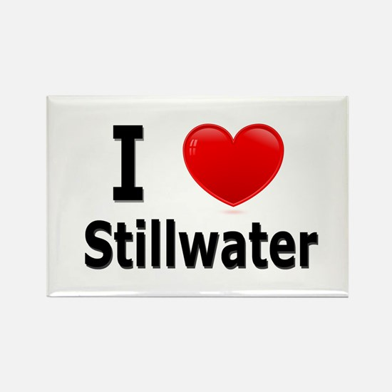 I Love Stillwater Rectangle Magnet