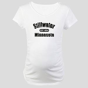 Stillwater Established 1854 Maternity T-Shirt