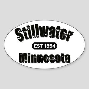 Stillwater Established 1854 Oval Sticker