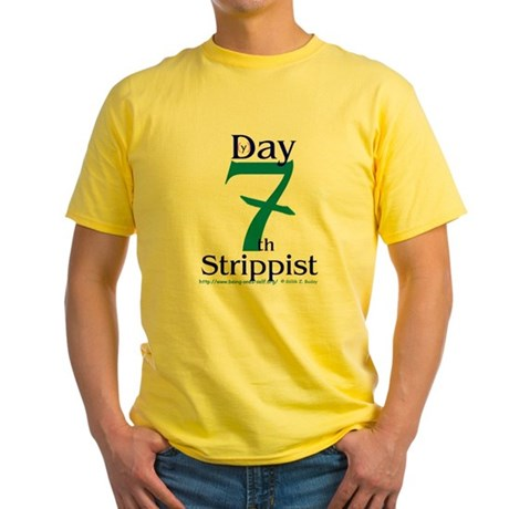 The Holy Church of the Seveth Yellow T-Shirt