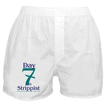 The Holy Church of the Seveth Boxer Shorts