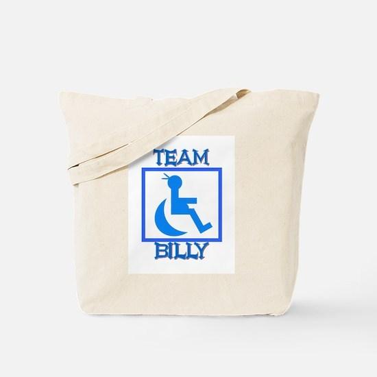 Team Billy Tote Bag