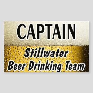 Stillwater Loon Rectangle Sticker