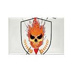Skull Rectangle Magnet (100 pack)