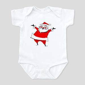 Happy Santa Infant Bodysuit
