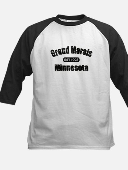 Grand Marais Established 1903 Kids Baseball Jersey