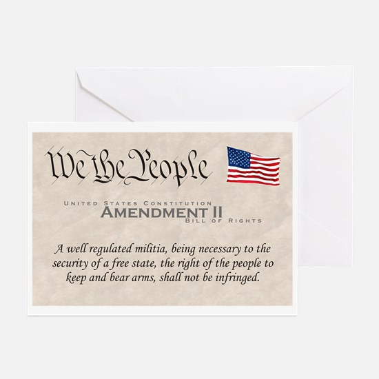 Amendment II Greeting Cards (Pk of 10)