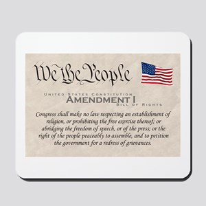 Amendment I Mousepad