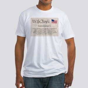 Amendment I Fitted T-Shirt