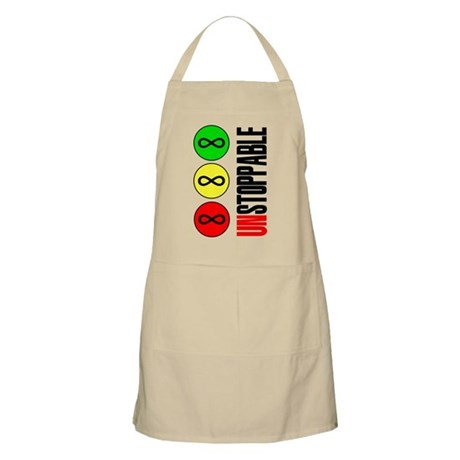 Unstoppable Infinity Math Forever Apron