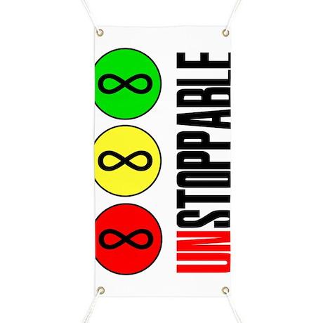 Unstoppable Infinity Math Forever Banner