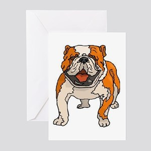 American Bulldog Greeting Cards (Pk of 10)