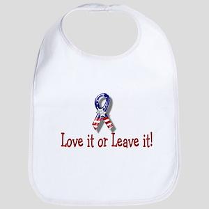 Love it or Leave it ! Bib