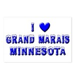 I Love Grand Marais Winter Postcards (Package of 8