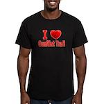 I Love the Gunflint Trail Men's Fitted T-Shirt (da