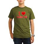 I Love the Gunflint Trail Organic Men's T-Shirt (d