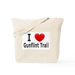 I Love the Gunflint Trail Tote Bag