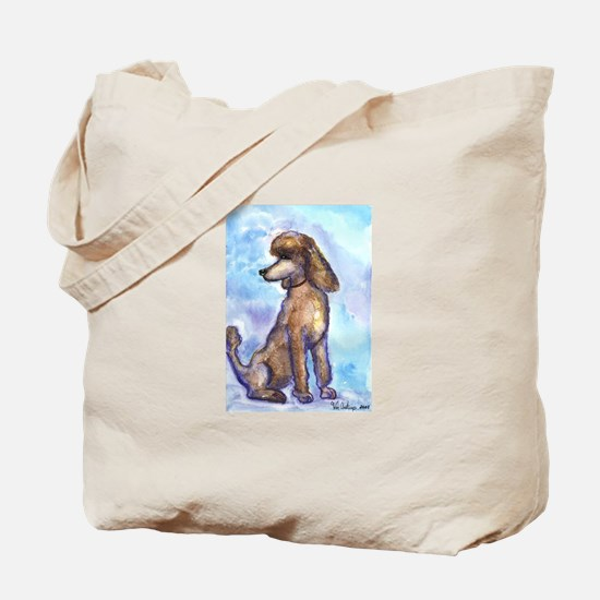 Brown Poodle Gifts Tote Bag
