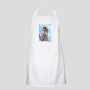 Brown Poodle Gifts BBQ Apron