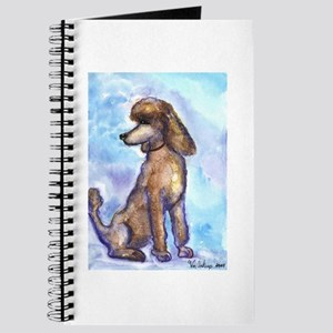Brown Poodle Gifts Journal