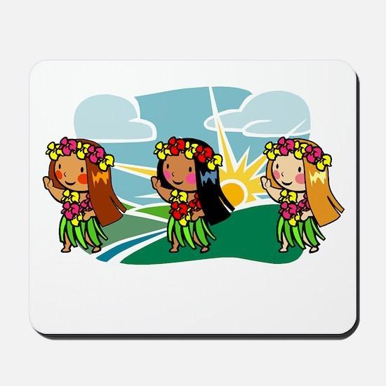 Sweet Hula Babes Mousepad