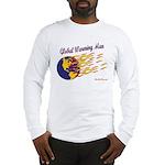 Global Warming Man Long Sleeve T-Shirt