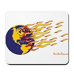 Global Warming Man Mousepad