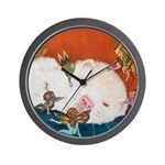 Faeries Wall Clock